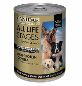 CANIDAE PET FOODS CANIDAE DOG CAN ALL LIFE STAGES MULTI-PROTEIN 13.2 OZ