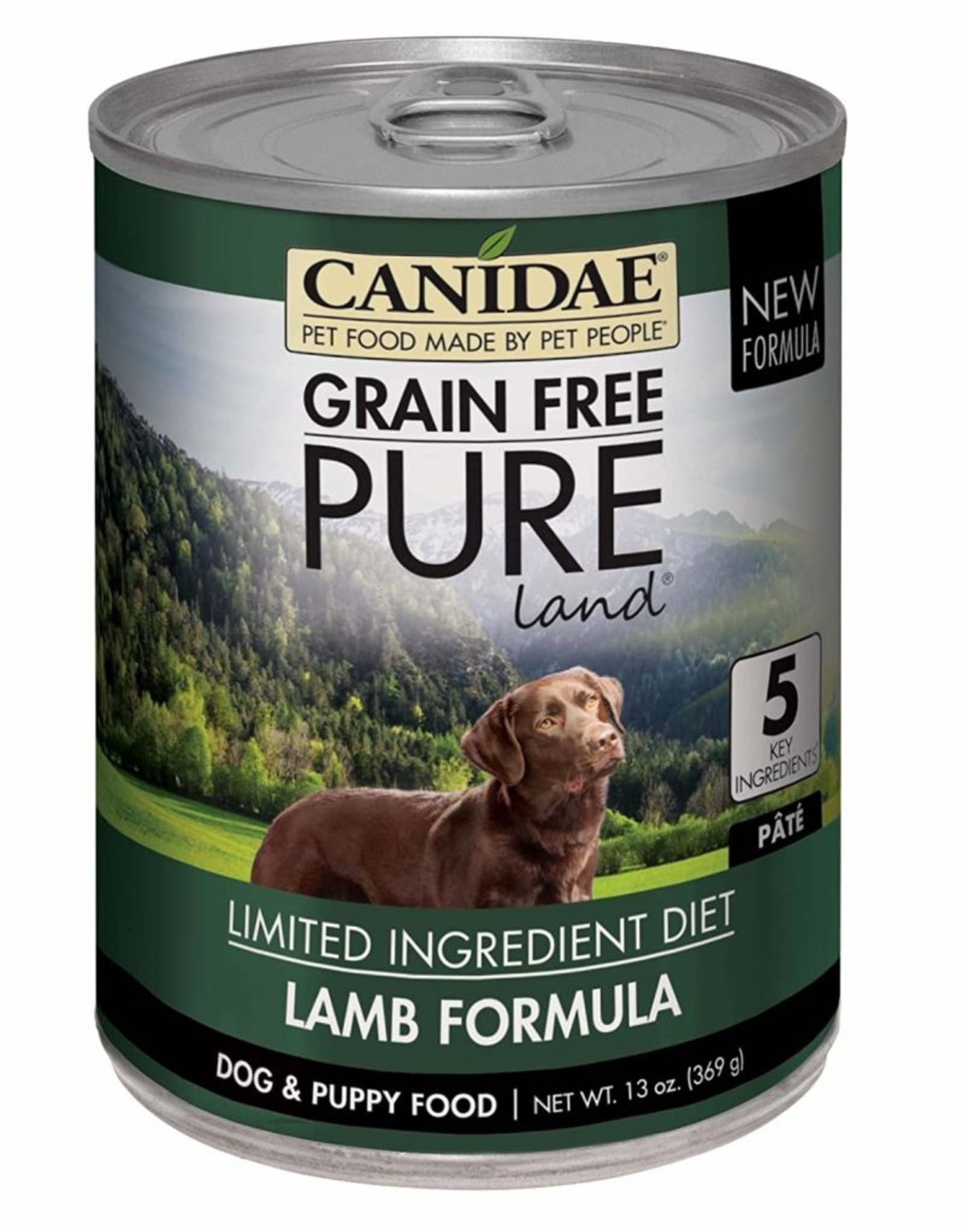 CANIDAE PET FOODS CANIDAE DOG CAN PURE LAND LAMB 13OZ CASE OF 12