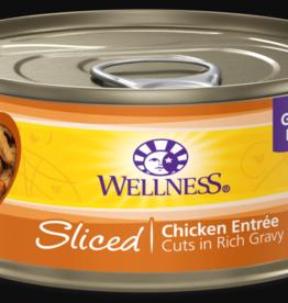 WELLPET LLC WELLNESS CAT CAN CUBED CHICKEN 3OZ