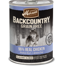 MERRICK PET CARE, INC. MERRICK BACKCOUNTRY DOG CHICKEN CAN 12.7OZ
