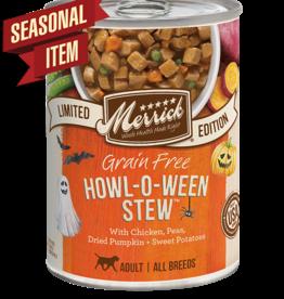 MERRICK PET CARE, INC. MERRICK DOG CAN HOWL-O-WEEN STEW 12.7OZ CASE OF 12 N/A