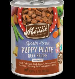 MERRICK PET CARE, INC. MERRICK DOG CAN PUPPY PLATE BEEF 13.2OZ