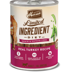 MERRICK PET CARE, INC. MERRICK LID DOG TURKEY RECIPE CAN 12.7OZ