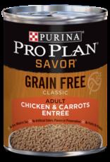 PRO PLAN DOG CAN CHICKEN & CARROTS GRAIN FREE 12.5OZ