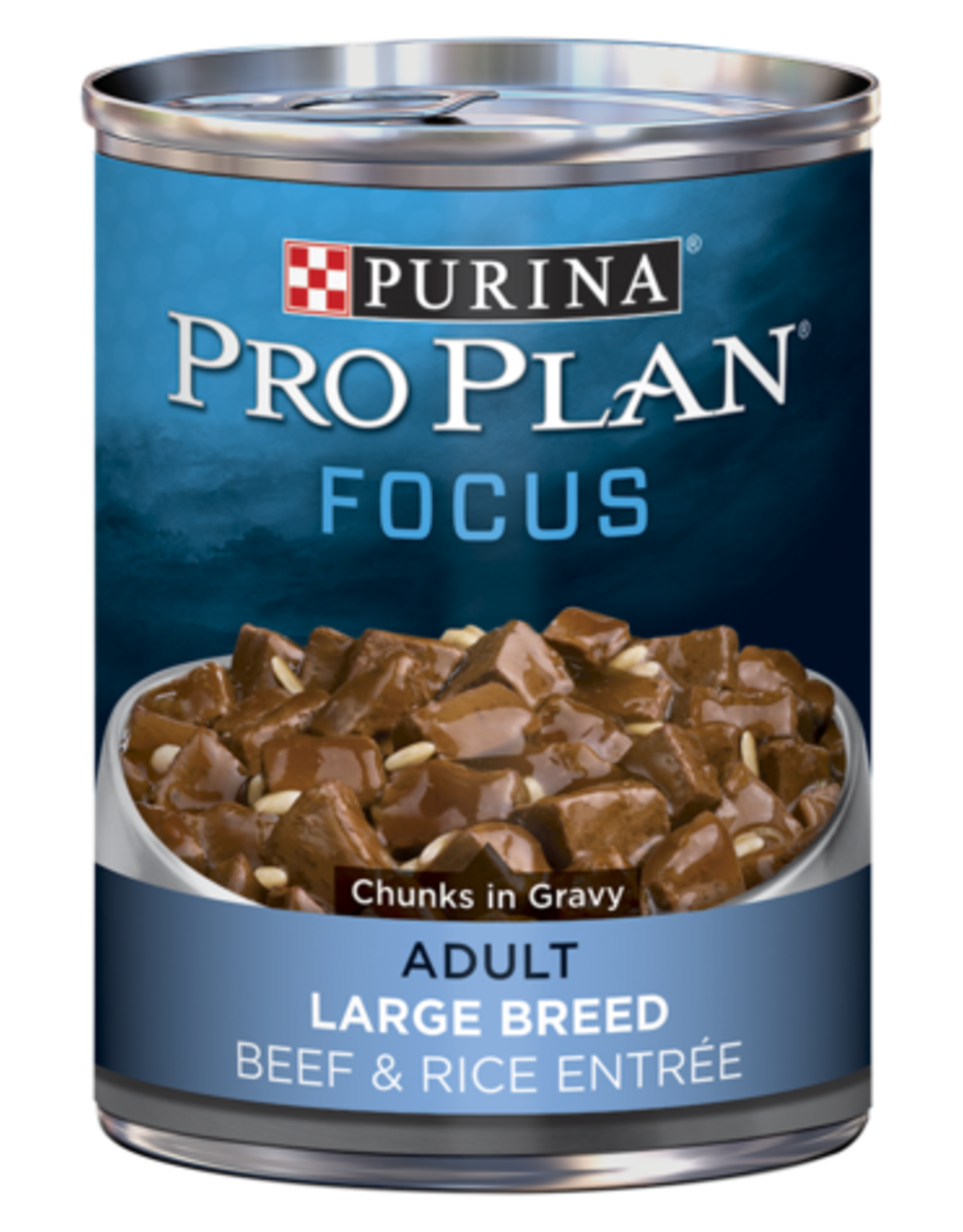 PRO PLAN DOG CAN LARGE BREED BEEF 13OZ CASE OF 12