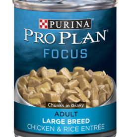 PRO PLAN DOG CAN LARGE BREED CHICKEN & RICE 13OZ CASE OF 12