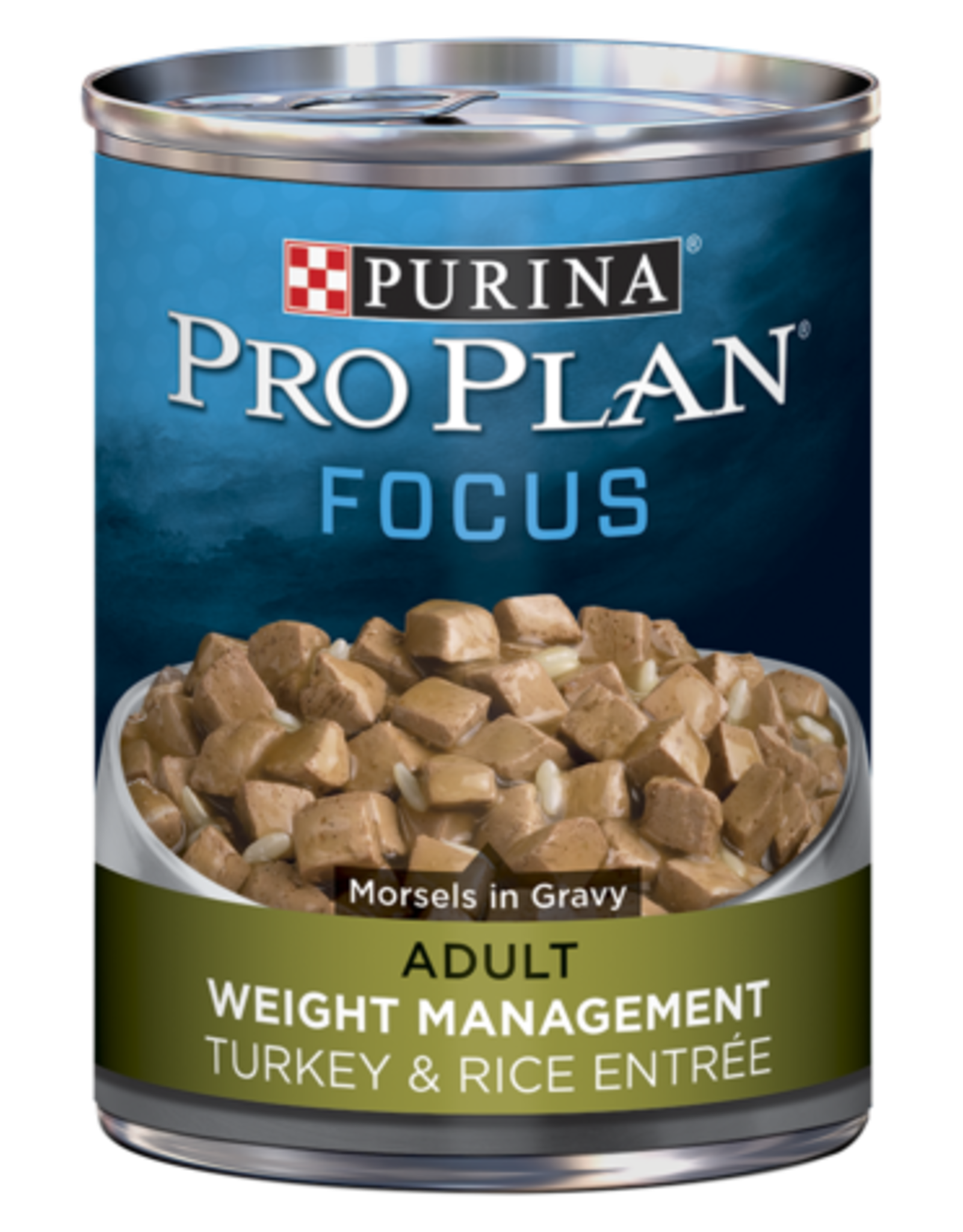 PRO PLAN DOG CAN WEIGHT MANAGEMENT TURKEY & RICE 13OZ CASE OF 12