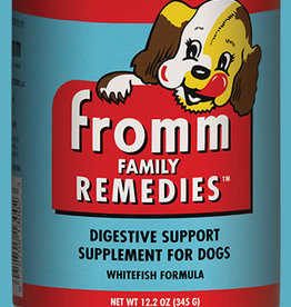 FROMM FAMILY FOODS LLC FROMM DOG FAMILY REMEDIES WHITEFISH CAN 12.2OZ