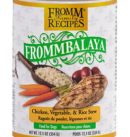 FROMM FAMILY FOODS LLC FROMM DOG FROMMBALAYA CHICKEN & RICE STEW CAN 12.5OZ CASE OF 12