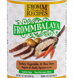 FROMM FAMILY FOODS LLC FROMM DOG FROMMBALAYA TURKEY & RICE STEW CAN 12.5OZ CASE OF 12
