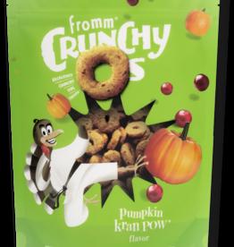 FROMM FAMILY FOODS LLC FROMM DOG CRUNCHY O'S PUMPKIN KRAN POW 6OZ