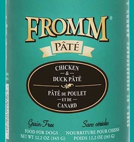 FROMM FAMILY FOODS LLC FROMM DOG GOLD PATE CHICKEN & DUCK CAN 12.2OZ