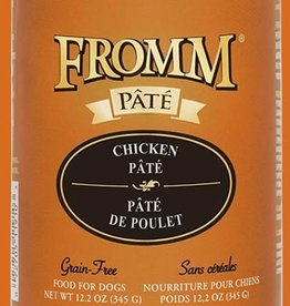 FROMM FAMILY FOODS LLC FROMM DOG GOLD PATE CHICKEN CAN 12.2OZ CASE OF 12