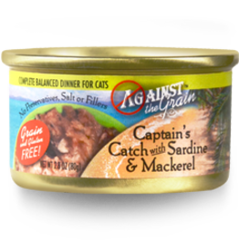 EVANGER'S EVANGERS CAT ATG CAPTAINS W/SARDINES & MACKEREL 2.8OZ CASE OF 24