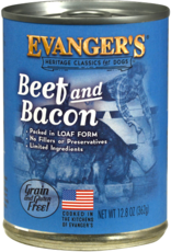 EVANGER'S EVANGERS CLASSIC BEEF & BACON 13OZ CASE OF 12