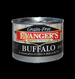 EVANGER'S EVANGERS GRAIN FREE BUFFALO 6OZ CASE OF 24