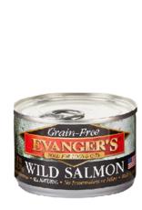 EVANGER'S EVANGERS GRAIN FREE WILD SALMON 6OZ CASE OF 24