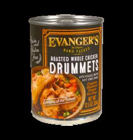 EVANGER'S EVANGERS HP ROASTED CHICKEN DRUMMET DINNER 12.8OZ CASE OF 12