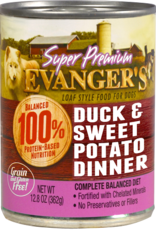 EVANGER'S EVANGERS SP DUCK & SWEET POTATO 13OZ CASE OF 12