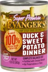 EVANGER'S EVANGERS SP DUCK & SWEET POTATO 13OZ CAN