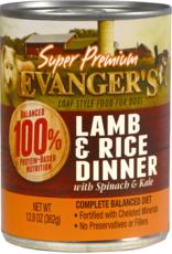 EVANGER'S EVANGERS SP LAMB & RICE 13OZ CASE OF 12