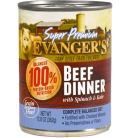 EVANGER'S EVANGERS SP BEEF DINNER W/ CHUNKS 13OZ CASE OF 12