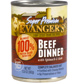EVANGER'S EVANGERS SP BEEF DINNER W/ CHUNKS 13OZ CAN