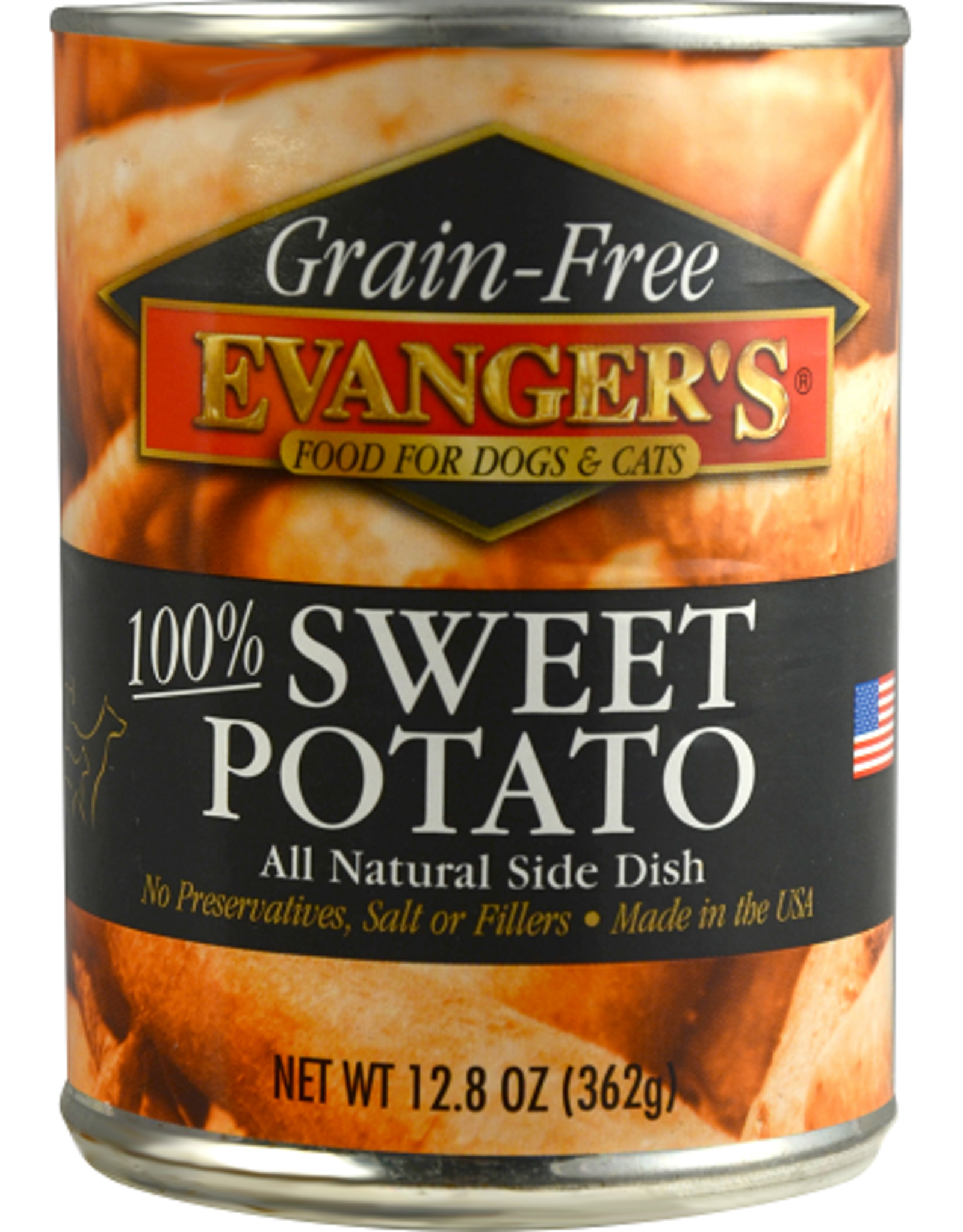 EVANGER'S EVANGERS GRAIN FREE SWEET POTATO 6OZ CAN