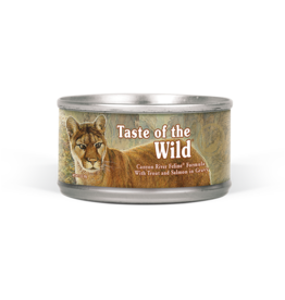 DIAMOND PET FOODS TASTE OF THE WILD CAT CAN CANYON RIVER 5.5OZ CASE OF 24