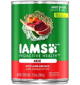 IAMS COMPANY IAMS DOG CAN LAMB & RICE PATE 13.2OZ CASE OF 12