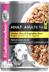 EUKANUBA EUKANUBA DOG CAN CHICKEN RICE & VEGETABLES DINNER 12.3OZ