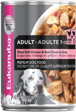 EUKANUBA EUKANUBA DOG CAN MIXED GRILL CHICKEN & BEEF DINNER 12.3OZ
