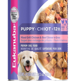 EUKANUBA EUKANUBA PUPPY CAN MIXED GRILL CHICKEN & BEEF 12.3OZ CASE OF 12