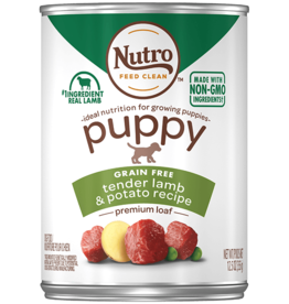 NUTRO PRODUCTS  INC. NUTRO PUPPY LAMB & POTATO CAN 12.5OZ