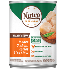 NUTRO PRODUCTS  INC. NUTRO DOG HEARTY STEW CHICKEN, CARROT & PEA CAN 12.5OZ