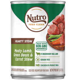 NUTRO PRODUCTS  INC. NUTRO DOG HEARTY STEW LAMB, GREEN BEAN, & CARROT CAN 12.5OZ CASE OF 12