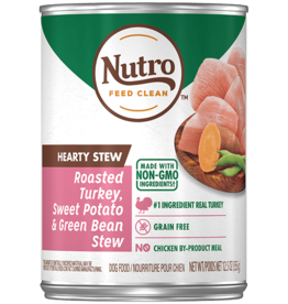 NUTRO PRODUCTS  INC. NUTRO DOG HEARTY STEW TURKEY, SWEET POTATO, & GREEN BEAN CAN 12.5 OZ CASE OF 12