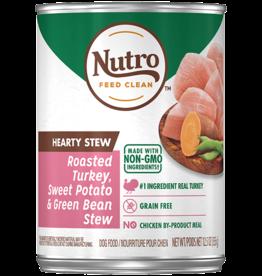 NUTRO PRODUCTS  INC. NUTRO DOG HEARTY STEW TURKEY, SWEET POTATO, & GREEN BEAN CAN 12.5 OZ