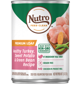 NUTRO PRODUCTS  INC. NUTRO DOG PREMIUM LOAF TURKEY, SWEET POTATO GREEN BEAN CAN 12.5OZ