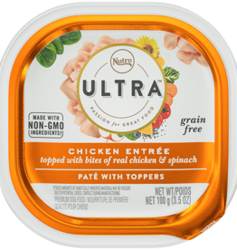 NUTRO PRODUCTS  INC. NUTRO ULTRA DOG CHICKEN PATE 3.5OZ TRAY CASE OF 24