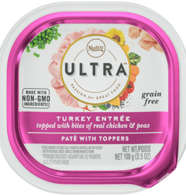 NUTRO PRODUCTS  INC. NUTRO ULTRA DOG TURKEY PATE 3.5OZ TRAY