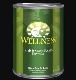 WELLPET LLC WELLNESS DOG CAN LAMB & SWEET POTATO 12.5OZ CASE OF 12