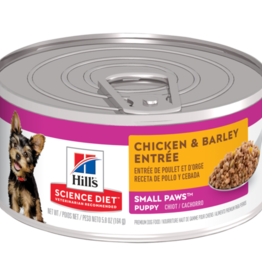SCIENCE DIET HILL'S SCIENCE DIET CANINE PUPPY SMALL & TOY BREED CHICKEN CAN 5.8OZ CASE OF 24