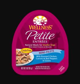 WELLPET LLC WELLNESS PETITE ENTREES CHICKEN, CARROTS & RED PEPPERS 3OZ
