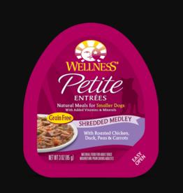 WELLPET LLC WELLNESS PETITE ENTREES CHICKEN, DUCK & CARROTS SMALL BREED 3OZ