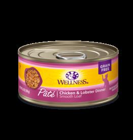 WELLPET LLC WELLNESS CAT CAN CHICKEN & LOBSTER 3OZ