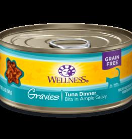 WELLPET LLC WELLNESS CAT CAN GRAVIES TUNA 3OZ