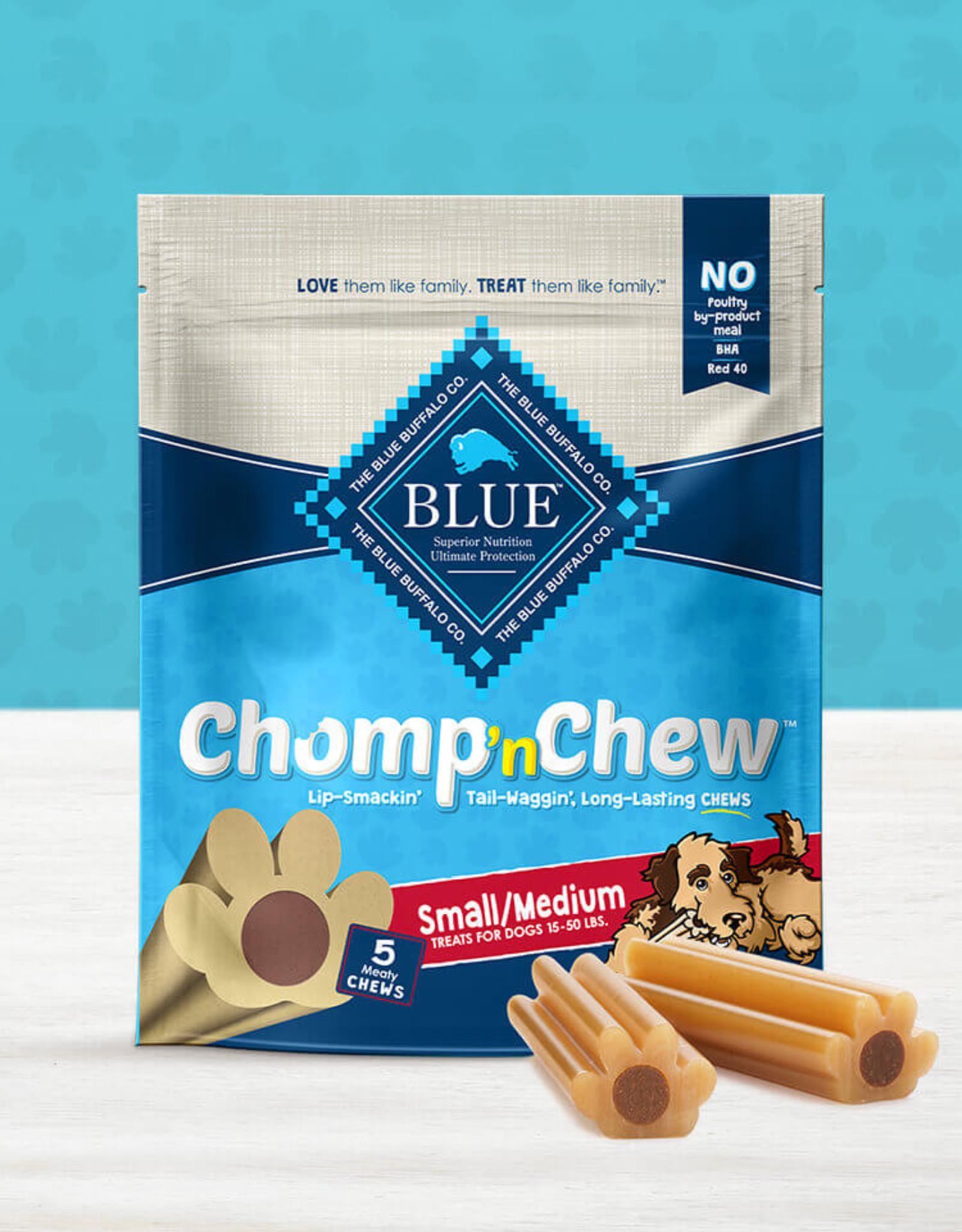 BLUE BUFFALO COMPANY BLUE BUFFALO CHOMP N' CHEW SM/MD 5CT