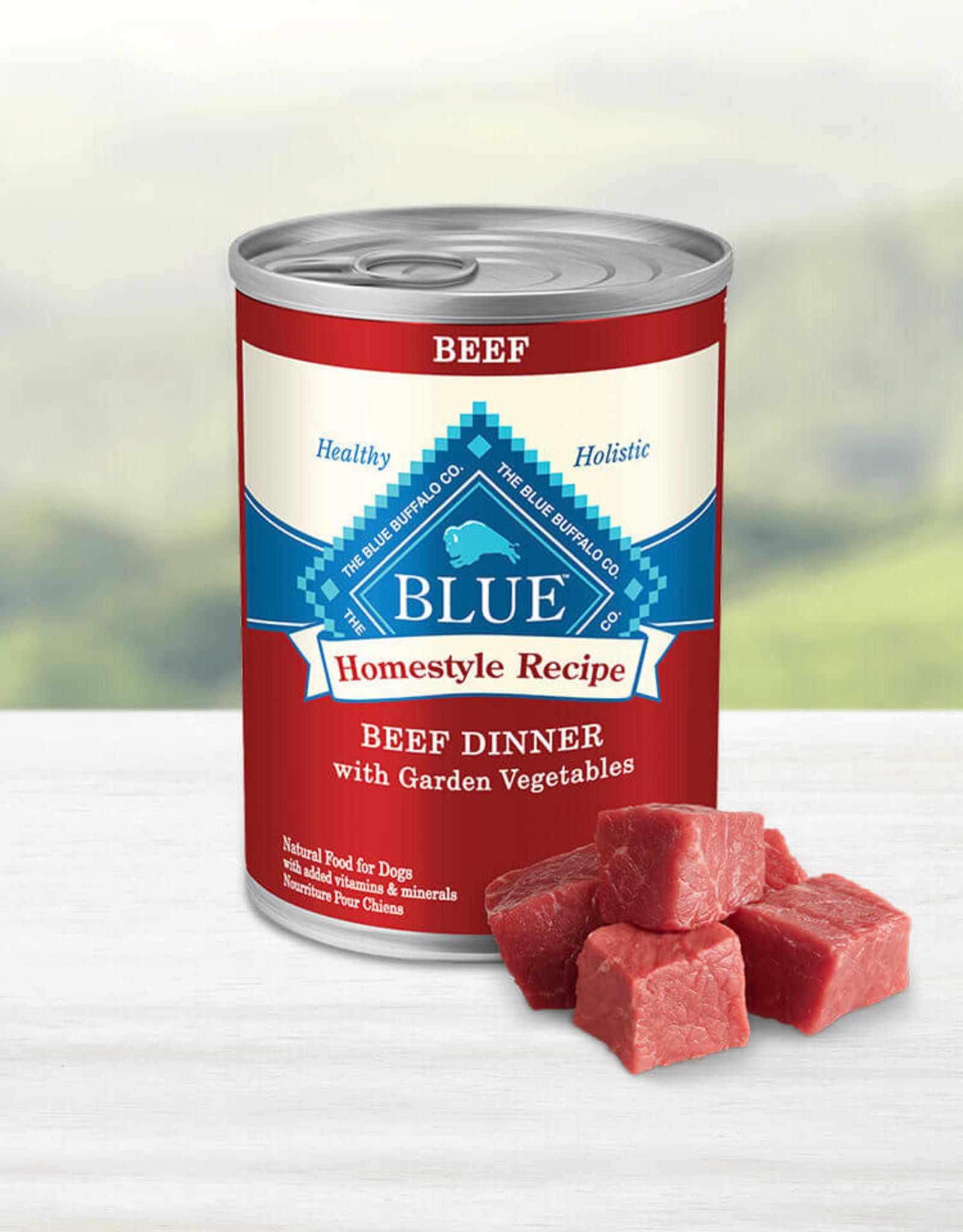BLUE BUFFALO COMPANY BLUE BUFFALO DOG CAN BEEF DINNER 12.5OZ