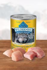 BLUE BUFFALO COMPANY BLUE BUFFALO WILDERNESS DOG HEALTHY WEIGHT CAN 12.5OZ CASE OF 12